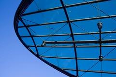 Metrostation (on1stsite.) Tags: blue roof glass station metro schiedam