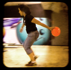 this is how a ho bowls (JKnig) Tags: orange woman motion blur sport ball friend photographer action lane bowling bowler bowlingball argus argoflex hehhehheh estherperez hoebowl ttv cantwaittogoback argoflexseventyfive esther17 throughtheviewfinder lookatthatform wappingersfallsny estherbowlsforreals shesinaleagueandeverything andshegavemeafewtips andifellinlovewithit thishosabadinfluence betweenthechucksandtheroidsandthebowling pssimactuallyaleftybutbowlrighty psshesarightyichosenottofixtheorientationonthis