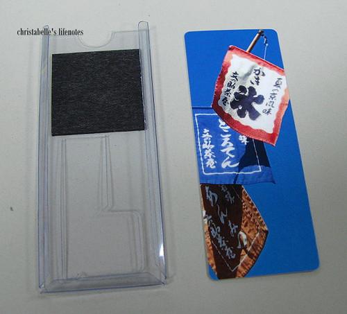 pingcard附的卡片匣