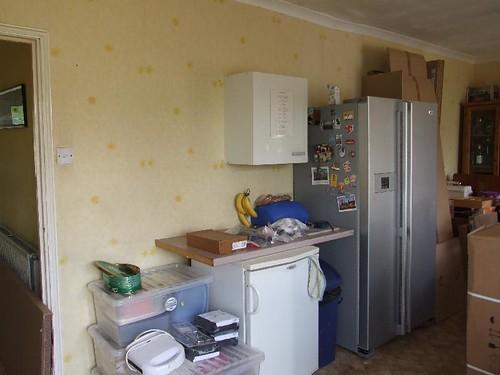New fridge/freezer