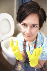hate housekeeping 2.jpg (galendara) Tags: bathroom bathrooms rubbergloves maid toilets housekeeping slave pissedoff cleaningtoilets cleaningbathrooms hatehousekeeping