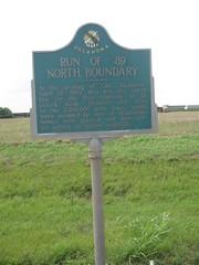 Run Of '89 North Boundary