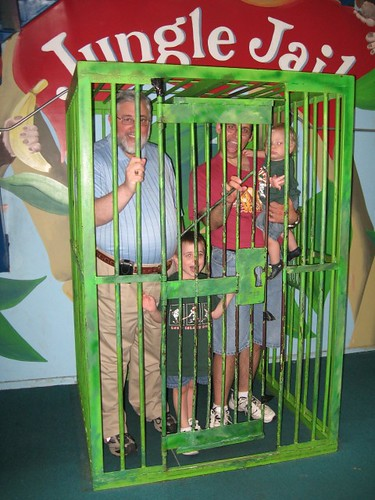All the boys in the Jungle Jail