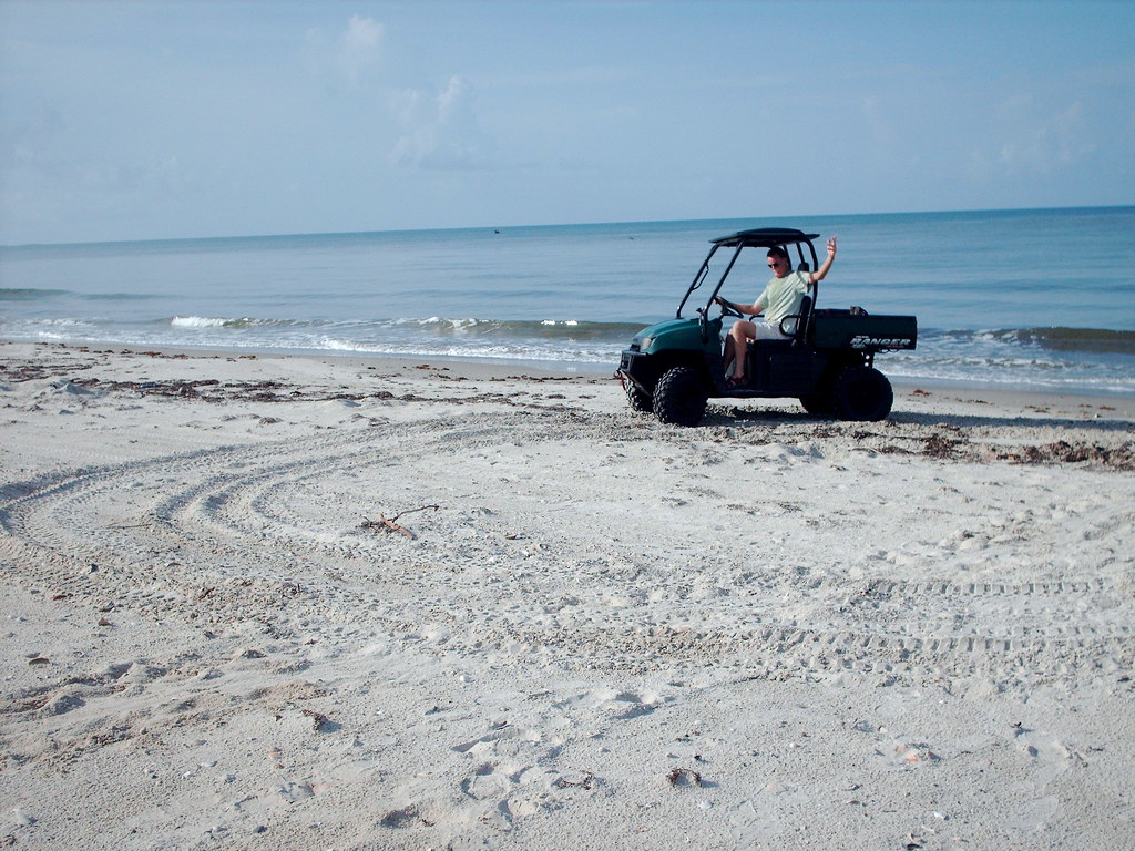 Doin' Donuts on the Gulf Beach