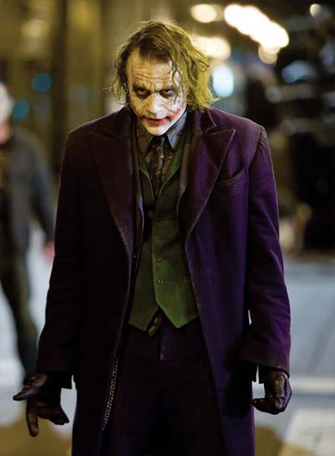 Heath Ledger koker Batman