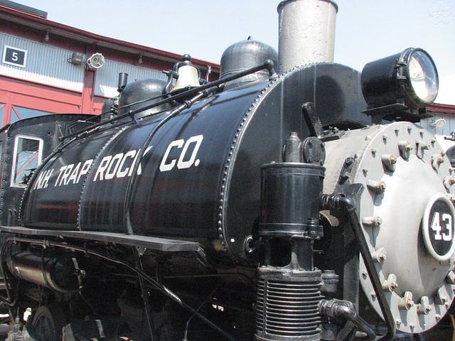 New Haven Trap Rock Company 0-4-0T Saddletank Locomotive No 43 by SaikoSakura