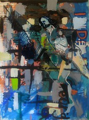 Mithridrates VI-Daryal-escape (grijsz) Tags: art painting georgia king escape contemporary hans caucasus 2008 iv heiner tbilisi pontus pompey tiflis georgien buhr mithridates hansheinerbuhr 2008works workshansheinerbuhr2008