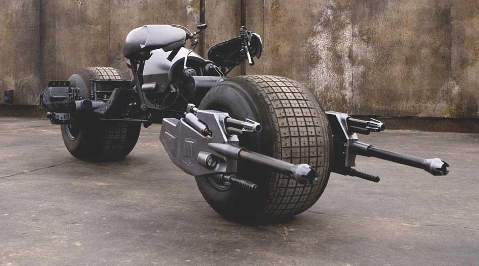 Imagem Moto ou Batpod do Batman