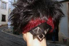 haircut dark with red (wip-hairport) Tags: new hair dye haircut hairdresser wiphairport lisbon portugal