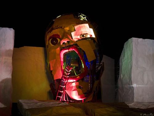 Expo Zaragoza 2008. Iceberg por Asemta