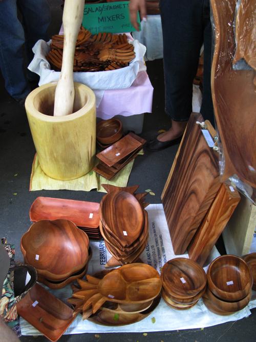 Salcedo Market - Wooden Wares