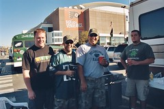 "Tailgating Dorks • <a style=""font-size:0.8em;"" href=""http://www.flickr.com/photos/23560286@N02/2718851298/"" target=""_blank"">View on Flickr</a>"
