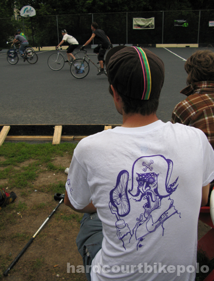 NSPI bike polo 2008 zap t shirt