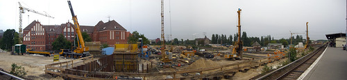 Ostkreuz Baustellen-Panorama