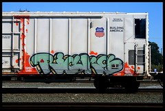 Ricks SAC (CONSTRUCTIVE DESTRUCTION) Tags: train graffiti boxcar ricks reefer armn skateallcities constructivedestruction