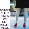 Jenny's killer heels