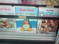 Tux - Women's Weekly Party Animals (avlxyz) Tags: party animal cake recipe penguin book cover linux tux womensweekly