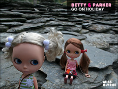 Betty & Parker go on holiday