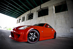 My 350z (jeremycliff) Tags: red cliff black underpass highway body awesome tunnel jp rig type kit 19 350z rolling axis nissan350z typ 19inch superhiros jeremycliff rednissan350z jptypenbodykit axissuperhiros