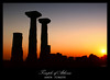 Temple of Athena, Assos (Kuzeytac) Tags: travel blue sunset red sky panorama orange sun black color colour history silhouette yellow stone backlight turkey geotagged temple evening view antique postcard türkiye turkiye aegean scene panoramic historic backlit athena ida geotag siluet leyla assos gökyüzü ege antik tapınak manzara güneş sarı lsi kırmızı portakal akşam tarihi siyah taş çanakkale behramkale tarih kazdağları canoneos400d canoneosdigitalrebelxti ayvacık colorphotoaward achallengeforyou kuzeytac aqualityonlyclub