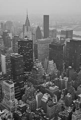 Vue de NY sur l'Empire State par Fabounet