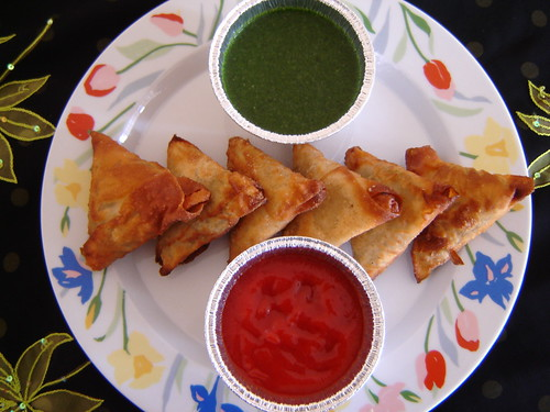 Spicy and Crispy Samosas