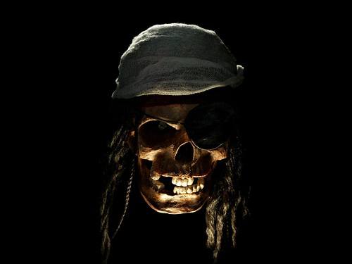 pirate wallpapers. Pirate Skull Wallpaper