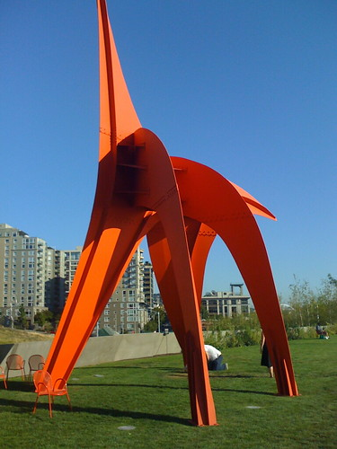 At the Seattle Sculpture Park