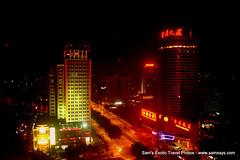 IMG_7787 (Sam's Exotic Travels) Tags: street night lights capital prc chinas sams shijiazhuang travelphotos samsays hebeiprovince samsexotictravelphotos exotictravelphotos samsayscom jebeo northchinaplain