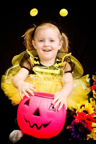 Katie as the Queen Bee