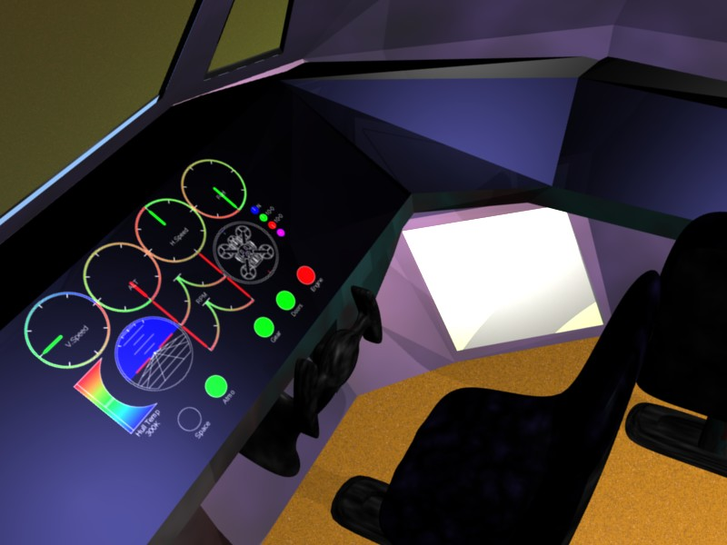 cockpit angle