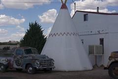 Wigwam in Holbrook (Moonheart) Tags: arizona holbrook wigwam