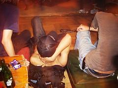 Vanish鼓手歐陽~直接躺在地上看RIR的演出 (diamondlotus) Tags: fullhouse vanish 兔子很有錢 七日逃亡計劃