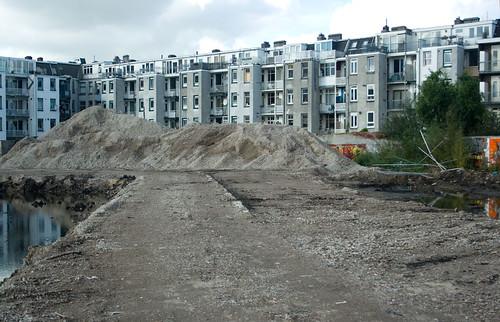 lege bouwplaats