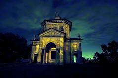 Ombre notturne (stefanoamirante) Tags: panorama monumento chiesa lombardia varese notte scorcio sacromonte d300 21100 insubria tokinaaf1224mmf4