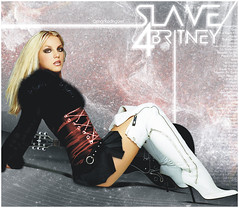 Britney Spears [HD Slave4Britney] ( Omar Rodriguez V.) Tags: red white sexy art toxic rock magazine official shoot dress princess boots guitar spears coat fake mini skirt pop popart nudity blackout q britney songs slave inthezone womanizer slave4britney