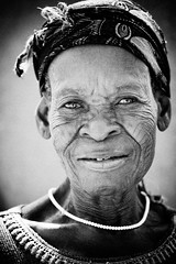 Grandmother of Sirigu (Nana Kofi Acquah) Tags: portrait people bw tourism ghana portraiture aged ef100macro sirigu naturalbeautyportraiture