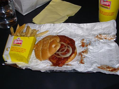 Wendy's McRib