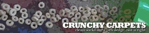 Crunchy Carpets banner