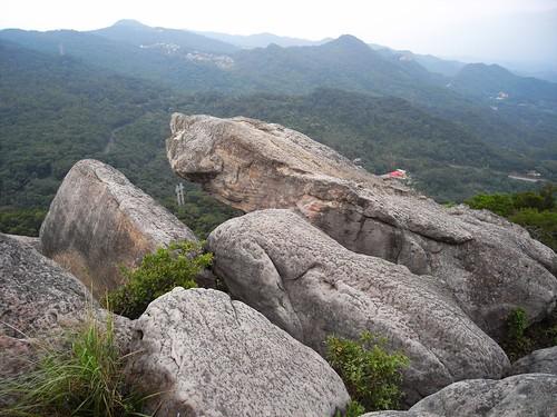 你拍攝的 58空中巨岩。