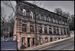 Ukraine, Kiev. (lights2008) Tags: old autumn sunset wall architecture ruins decay ukraine kiev киев hdr осень закат ночь україна blueribbonwinner київ украина осінь