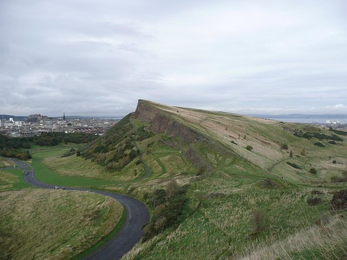 Edinburgh - Holyrood Park - Part of Arthur's Seat