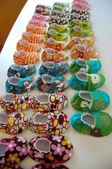 A lot of booties! (Jennifer Ladd handmade) Tags: baby cute shoe handmade craft etsy booties jenniferladd wistblog