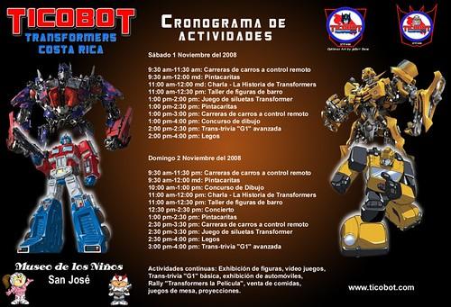 Cronograma Ticobot 2008