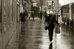 Raintown - cropped version (paddimir) Tags: street wet scotland glasgow argyll argyle raining dreich raintown drookit
