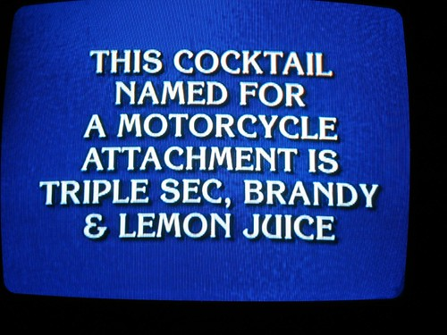 Jeopardy clue set: 'Cheers'