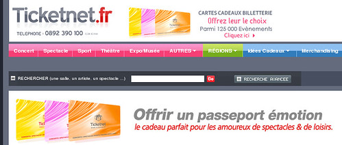 Ticketnet : un site de billetterie a bookmarker !