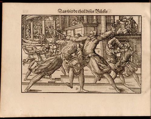 Joachim Meyer - Gründtliche Beschreibung des Fechtens 1570f