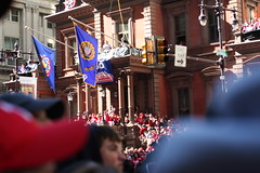 Union League steps (cdascher) Tags: philadelphia parade phillies worldseries