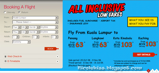 all inclusive low fares
